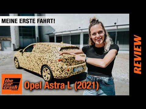 Opel Astra L (2021) Meine erste Fahrt! 💛 Fahrbericht   Review   Test   Innenraum   Autobahn   Preis