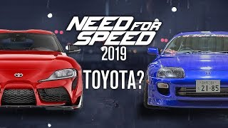 Will Toyota Return to Need for Speed 2019?