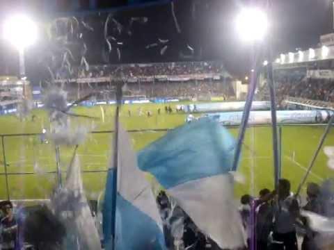 """""""Recibimiento de Atletico Rafaela 0 vs. San Lorenzo 0"""" Barra: La Barra de los Trapos • Club: Atlético de Rafaela"""