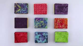 Exclusive Batik Fabrics: Vibrant, hand-dyed 100% cotton for quilting and more