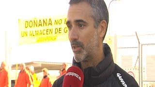 NATURAL GAS Greenpeace paraliza obras Gas Natural en Doñana