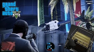 GRAND THEFT AUTO V   WE ROBBED BIGGEST BANK THE UNION DEPOSITORY