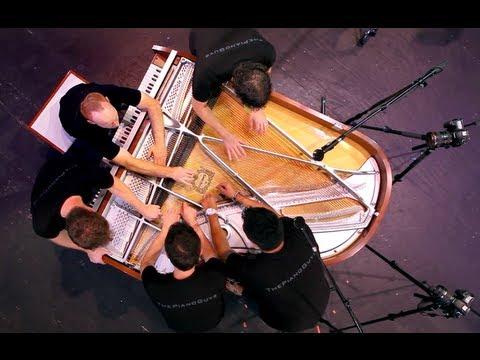 One Direction - What Makes You Beautiful (5 Piano Guys, 1 piano) - The Piano Guys