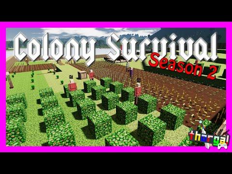 Colony Survival Season 2 - Ep 01: A New Start