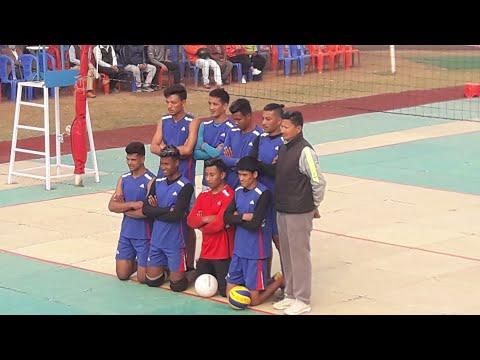 Bidhan sports Vs Galkot || Final Volleyball match || MKS cup 2077 || Pokhara Rangashala ||