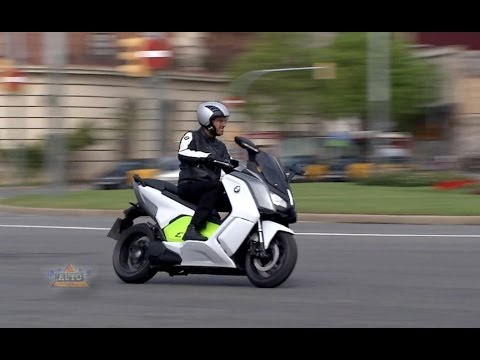 BMW C evolution Electric Scooter Video
