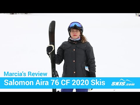 Video: Salomon Aira 76 CF Skis 2020 14 40