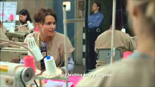 Orange Is The New Black - Season 3 3x06 Piper & Stella Scenes (VOSTES)