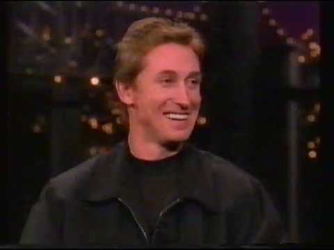Wayne Gretzky and Mark Messier - Late Night with David Letterman (4th October 1996)