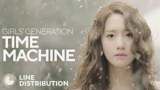 GIRLS' GENERATION - Time Machine (Line Distribution)