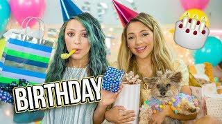 Opposite Twins Birthday Gift Exchange! Niki and Gabi