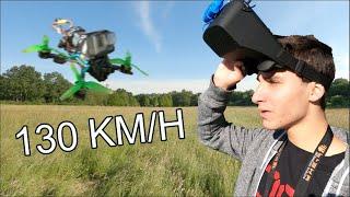 Je test mon nouveau drone FPV