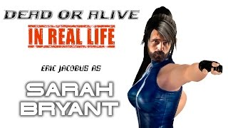 Dead or Alive Kickboxing - SARAH in Real Life [Eric Jacobus]