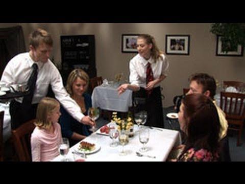 The Perfect Server Waitstaff Training DVD - YouTube