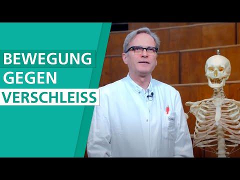 Schwellung des Halses mit zervikaler Osteochondrose