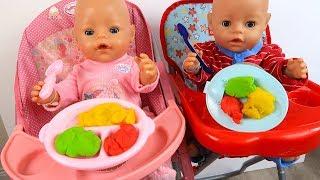 Куклы Пупсики КОРМИМ #БЕБИБОН ИГРАЕМ Сборник Мультиков Про Куклы Для детей