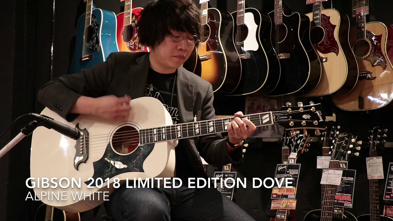 Gibson / 2018 Limited Edition Dove Alpine White S/N 12787014【FINEST GUITARS】