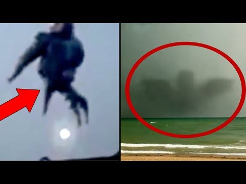 10 Strange Mysterious Events Happening In Our World! Unexplained Mysteries Caught On Camera 2017