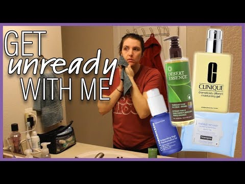 Get UNREADY With Me! | Nightly Skincare Routine