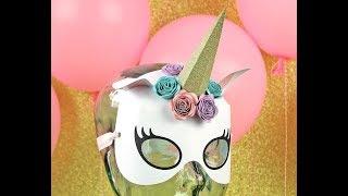 Unicorn Face Mask Assembly