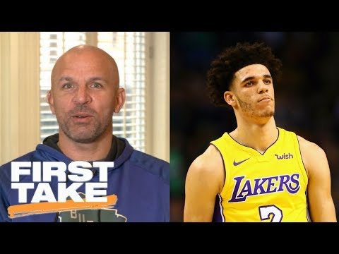 Jason Kidd doesn't agree with Lonzo Ball being compared to him | First Take | ESPN