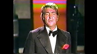 """Dean Martin - """"For The Good Times"""" - LIVE (1973)"""