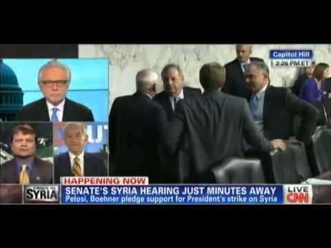Ron Paul Gets Cut Off By CNN
