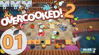 Overcooked 2 - 1 (4-Player)