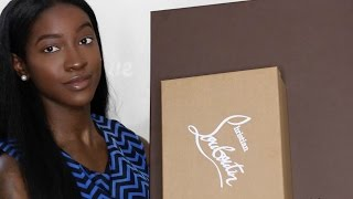 Christian Louboutin & Louis Vuitton Unboxing !!! ♡