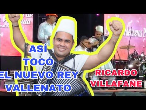 Ricardo Villafañe Rey Vallenato 2021