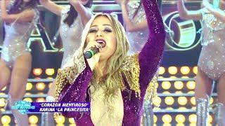 """Karina """"La Princesita"""" cantó sus hits e hizo bailar al jurado y al BAR"""