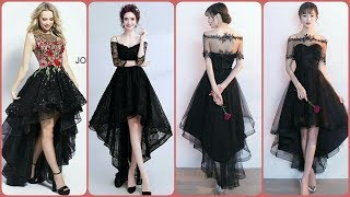 Latest Lace High Low Tell Style ALine Frock Prom Dress Collectio