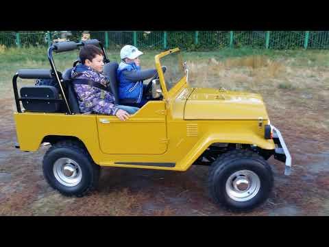 Детский Toyota land cruiser 40 сделанный своими руками. По всем интересующим вопросам по автомашине можете писать...