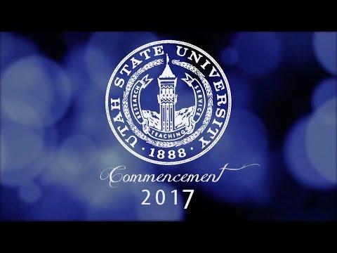 2017 Undergraduate Commencement - Utah State University