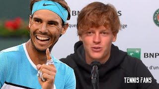 """Jannick Sinner """"Playing against Nadal here, It's not the easiest"""" - Roland Garros 2020 (HD)"""