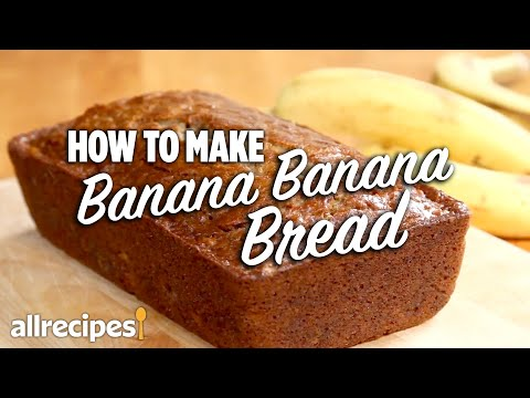 How To Make Banana Banana Bread | Allrecipes.com