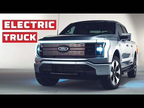 Electric Truck Reveal! 2022Ford F-150 Lightning First Look | MotorTrend