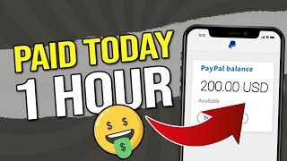 Sites That Pay YOU PayPal Money FAST - Earn Money SAME DAY! ($200)