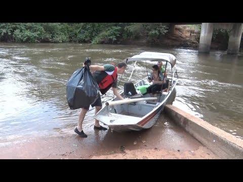 Assembleia Legislativa participa de ação de limpeza das águas e margens do Rio Guaporé