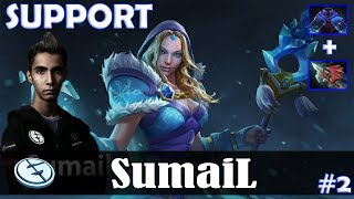 SumaiL - Crystal Maiden Roaming   SUPPORT   Dota 2 Pro MMR  Gameplay #2
