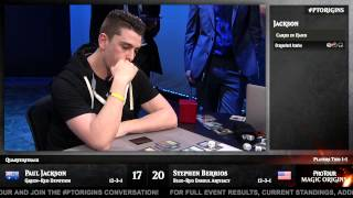 Pro Tour Magic Origins Quarterfinals (Standard): Paul Jackson vs. Stephen Berrios