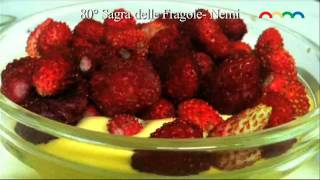 preview picture of video 'Nemi  - 80° Sagra delle Fragole e dei Fiori 2013'