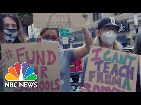 Teachers From Largest School District In U.S. Concerned About In-Person Learning | NBC News NOW