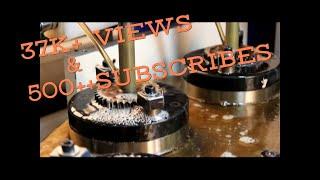 Honing machine and process