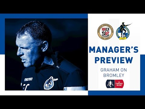 Match Preview - Graham Coughlan - Bromley