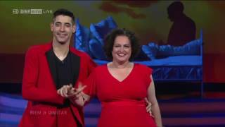 """ORF Dancing Stars 2017 - Show Dance Riem & Dimitar - """"Feeling good"""" performed live by Nathan Trent"""