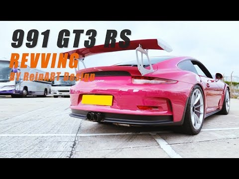 991 GT3 RS Modified with IPE Innotech Performance Exhaust