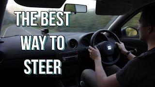 Car Steering: Shuffle or Cross? The Best Way to Steer