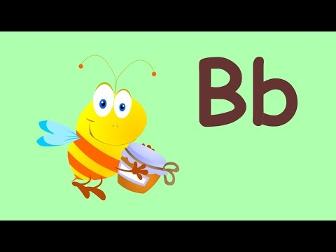 Letter B Song (Bee Song) | English Alphabet for Kids