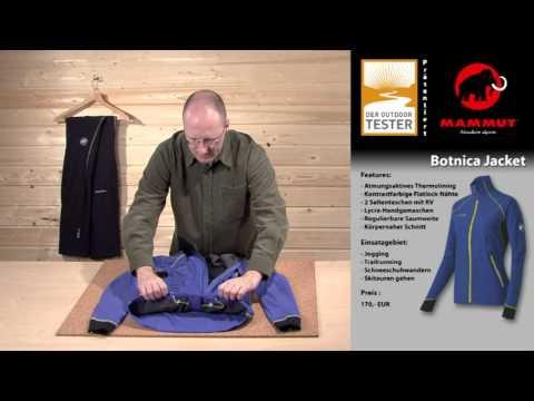 "Mammut Softshell-Jacke ""Botnica Jacket"" im Praxistest bei Der-Outdoortester.de"